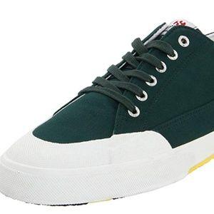 NWT Superga Green Olimpionico Sneakers